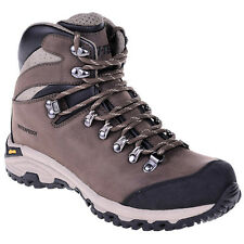 Hi-Tec Sajama Mid WP Leather Brown Men's Hiking Shoes Hiking Boot Waterproof