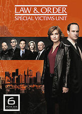 Law & Order: Special Victims Unit - The Sixth Year (DVD, 2008, 5-Disc Set)