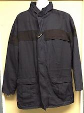 Workrite FRC Heavy Parka Nomex Jacket 510NX60 Nomex IIIA Navy Flame Resistant