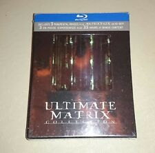 The Ultimate Matrix Collection Blu-ray Reloaded Revolutions Animatrix 7 disc set