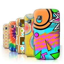 STUFF4 Back Case/Cover/Skin for Samsung Galaxy Gio/S5660/Decade Pattern