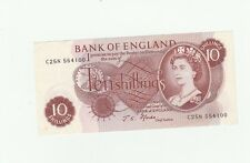 Fforde ten shilling note 1967..uncirculated condition'