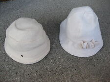 RARE VINTAGE LOTS OF 2 HELEN KAMINSKI HATS 100% WOOL EXCELLENT CONDITION