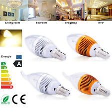E14 Dimmable High Power LED Chandelier Candle Light Bulb Energy Saving 9/12/15W