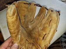 VINTAGE MICKEY MANTLE RAWLINGS MM-5 PROFESSIONAL MODEL LEATHER BASEBALL GLOVE