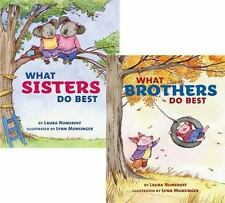What Sisters Do Best/What Brothers Do Best by Laura Joffe Numeroff Hardcover