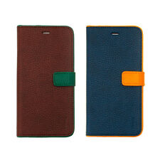 Zenus Color Point Leather Protect Slim Diary Cover Case For Apple iPhone 7 Plus