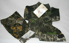 MOSSY OAK CAMO CAMOUFLAGE INFANT 4 PC DIAPER SHIRT SET- NWT