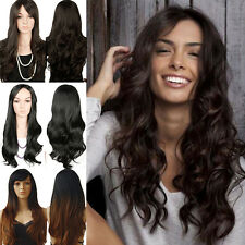 Long Straight Cheap Women Synthetic Hair Wig Quality Hair Heat Resistant Wig UK