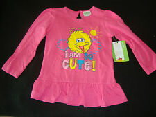 "SESAME STREET BIG BIRD  TEE SHIRT NWTS  ""I AM SO CUTE"""