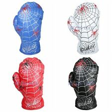Spider Web Design Boxing Glove Driver Wood Cover Golf Club Driver Headcover