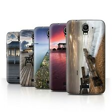 STUFF4 Phone Case/Back Cover for Huawei Y3/Y360 /English Seaside