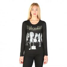 Love Moschino Clothing Women T-shirts Black 74760 Outlet BDX