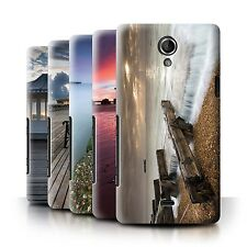 STUFF4 Phone Case/Back Cover for Sony Xperia T/LT30 /English Seaside
