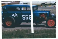 "1960s Drag Racing-A/Altered 1932 Ford Sedan-""Snafu""-1st INDY Nationals-1961"