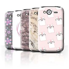 STUFF4 Back Case/Cover/Skin for HTC Wildfire S/G13/Pink Fashion