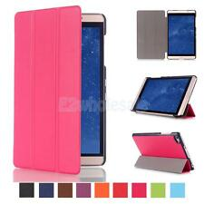 """Tri-Fold PU Leather Case Cover Skin Stand for 8"""" Huawei MediaPad M2 Tablet"""
