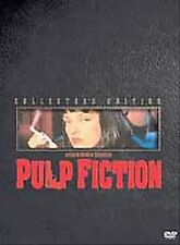 Pulp Fiction (DVD, 2002, 2-Disc Set, Collectors Edition) 100% For Charity
