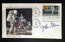 ASTRONAUT JOHN GLENN SIGNED FIRST DAY OF ISSUE STAMP ENVELOPE PHOTO AUTOGRAPH