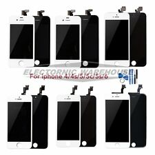 For iPhone 5 5C 5S 4S 6 Plus LCD Touch Screen Display Digitizer Assembly Lens AU