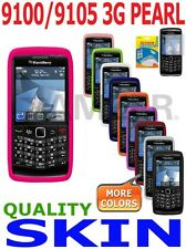 AMZER Skin Gel Cover + extra Argyle Case Screen Protector For Pearl 9100 9105 3G