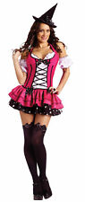 Sugar And Spice Witch Adult Women's Costume Footless Tights Fancy Dress Funworld
