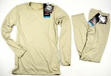 NEW POLARTEC GEN III ECWCS LEVEL 1 PANT & SHIRT TAN MEDIUM / REGULAR M-R