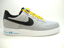 [488298-014] NIKE AIR FORCE 1 MENS SNEAKERS NIKEWOLF GREY BLACK