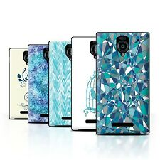 STUFF4 Phone Case/Back Cover for Sharp Aquos Xx 302SH /Teal Fashion