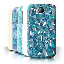 STUFF4 Back Case/Cover/Skin for HTC Sensation XL/G21/Teal Fashion