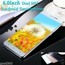 """6.0"""" Unlocked Quad Core Android Smartphone 3G Cell Phone Dual Lens&SIM Touch Lot"""