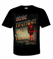 AC/DC T-Shirt Highway To Hell / Angus heavy metal Australian Rock N ROLL RARE!