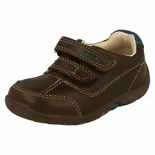 Boys Clarks Casual First Shoes Style Softly Lo -W