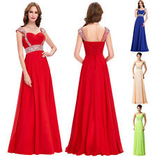 Grace Karin Evening Bridesmaid Formal Ball Gown Prom Party Cocktail Dress US2-16