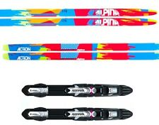 "NEW ALPINA ""ACTION"" SKATING SKATE XC cross country SKIS/BINDINGS PACKAGE - 196cm"