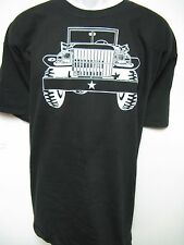 WC-51 WEAPONS CARRIER T-SHIRT/ DODGE POWER WAGON/ MILITARY VEHICLE/ NEW