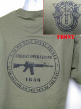 SPECIAL FORCES T-SHIRT/ IRAQ COMBAT OPERATIONS T-SHIRT