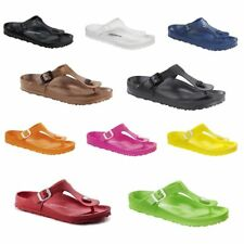 Birkenstock Gizeh Rubber EVA Waterproof Slide Sandals Shoes women Flip-Flops
