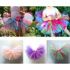 Kids Girl Tutu Fluffy Skirt Princess Party Petticoat Ballet Pettiskirt Dancewear
