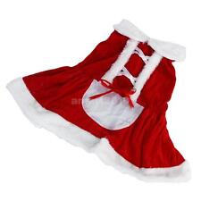 Christmas Party Santa Claus Style Pet Dog Costume Clothes Clothing Apparel