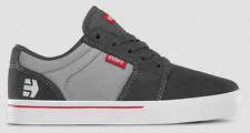 ETNIES KIDS BARGE LS DARK GREY RED YOUTH CASUAL SKATE SHOE FREE POST AUSTRALIA