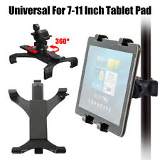 """Music Microphone Stand Bike Handlebar Clamp Mount Holder Cradle for 7-10"""" Tablet"""