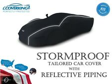 Coverking Stormproof Car Cover with Reflective Piping for Fiat 500