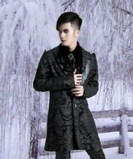 Gothic Steampunk Punk Rave Frock-coat Jacket Coat Lannister M L XL XXL new