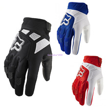 Motorcycle Mountain Bike Cycling Racing Motocross Full Finger Gloves Size M-XL