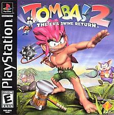 Tomba! 2 The evil swine return--- playstation 1 ps1