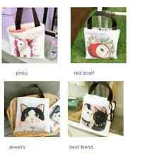 Rare Gift! Cat Lovers Bag Jetoy Choo Choo Petite Shopping Bag Tote Bag Handbag