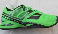 BABOLAT mens 8 7.5 Propulse tennis shoes green black All Court order 1/2 size up