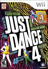 Nintendo wii Just Dance 4 *NEW/SEALED*