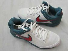 NIKE juniors AIR CAGE COURT white green night factor tennis shoes NEW $70